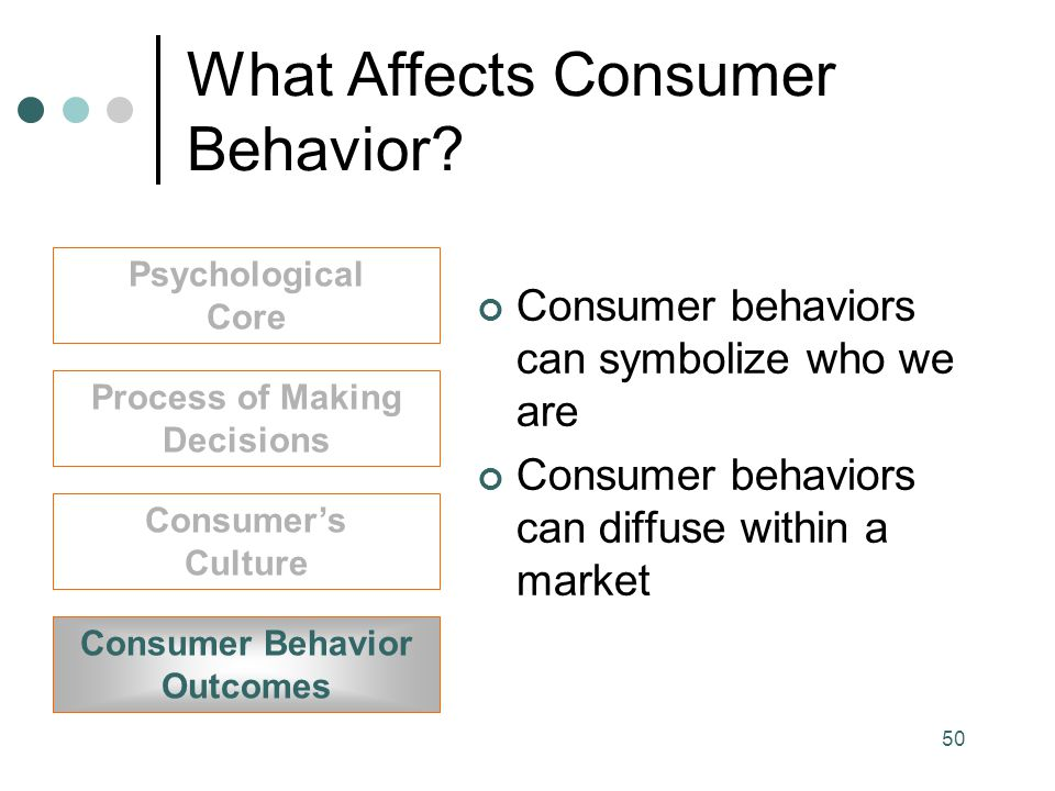 What Affects Consumer Behavior
