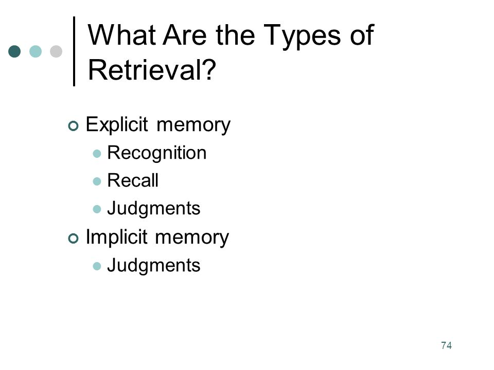 What Are the Types of Retrieval