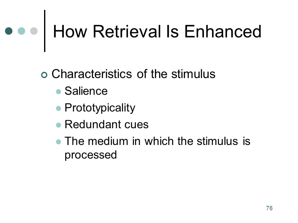 How Retrieval Is Enhanced