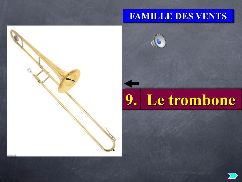 FAMILLE DES VENTS 9. Le trombone