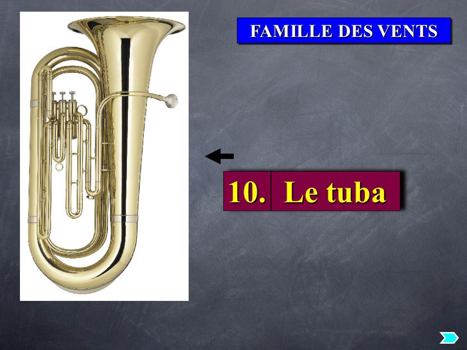 FAMILLE DES VENTS 10. Le tuba