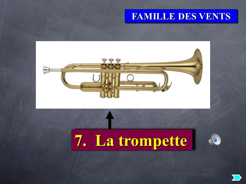 FAMILLE DES VENTS 7. La trompette