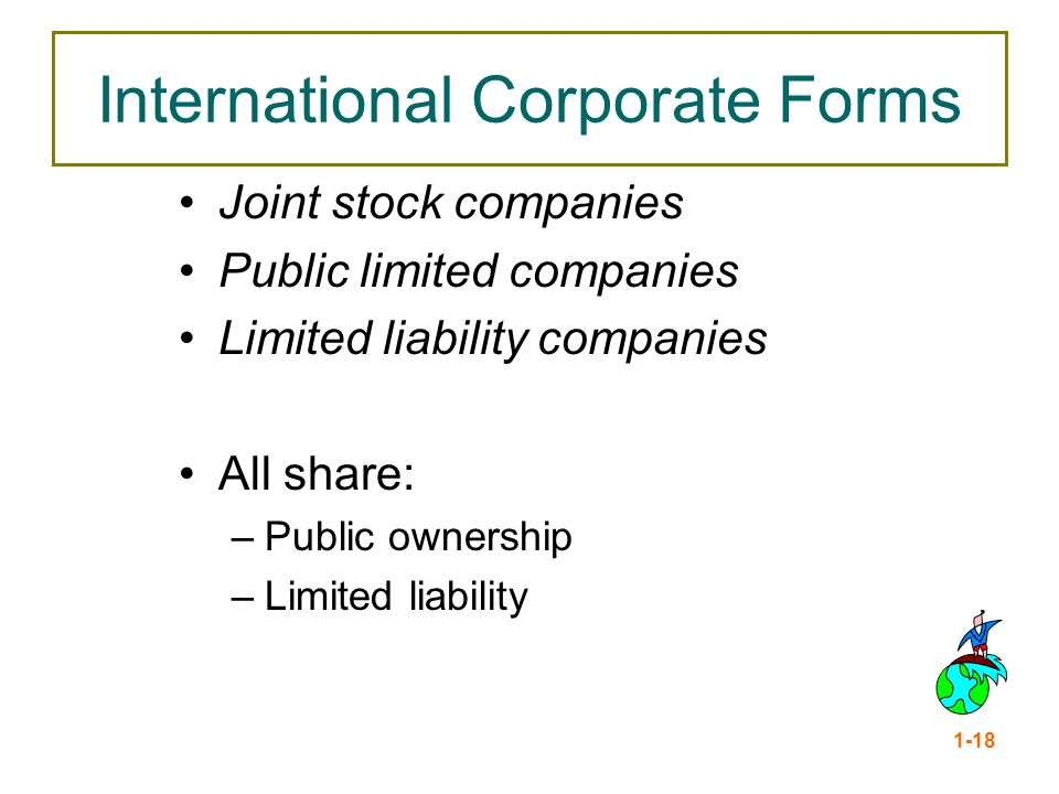International Corporate Forms