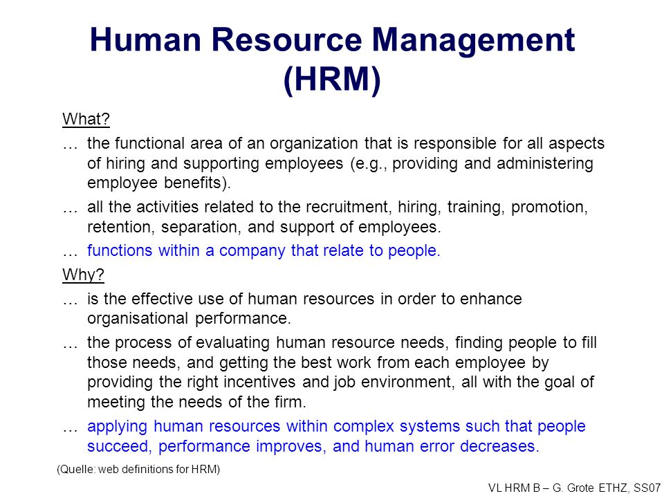 Performance Management System: A Strategic Tool for Human Resource Management
