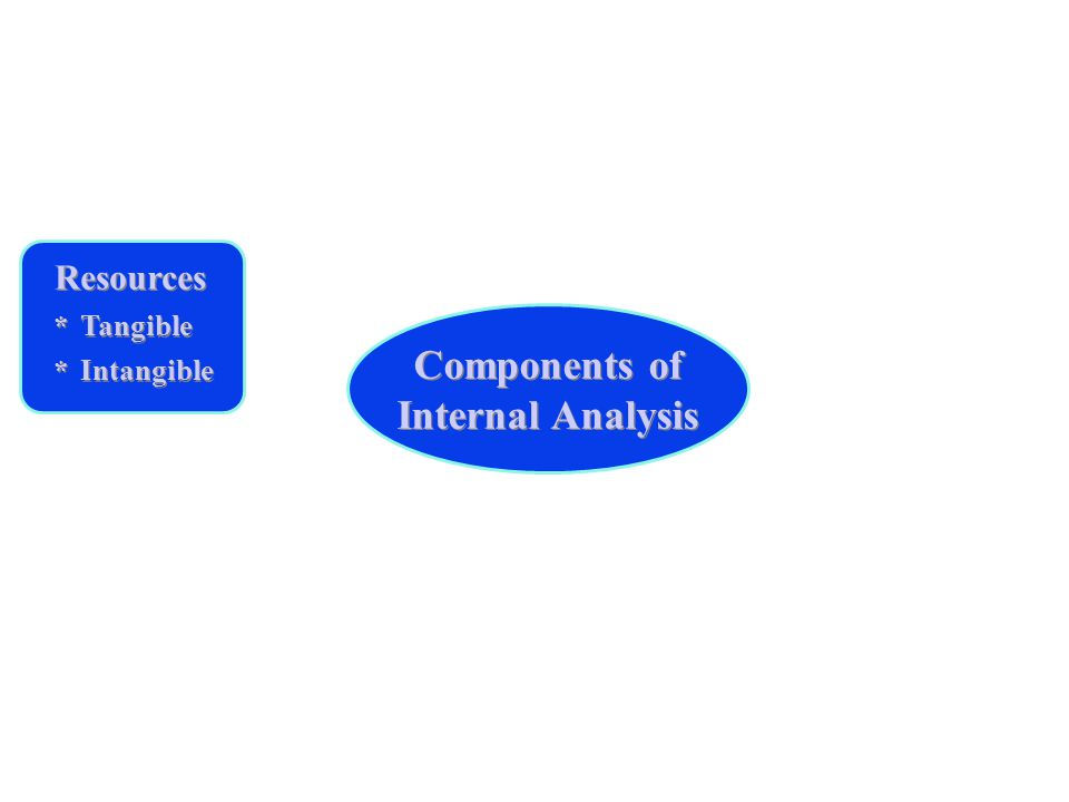 Components of Internal Analysis