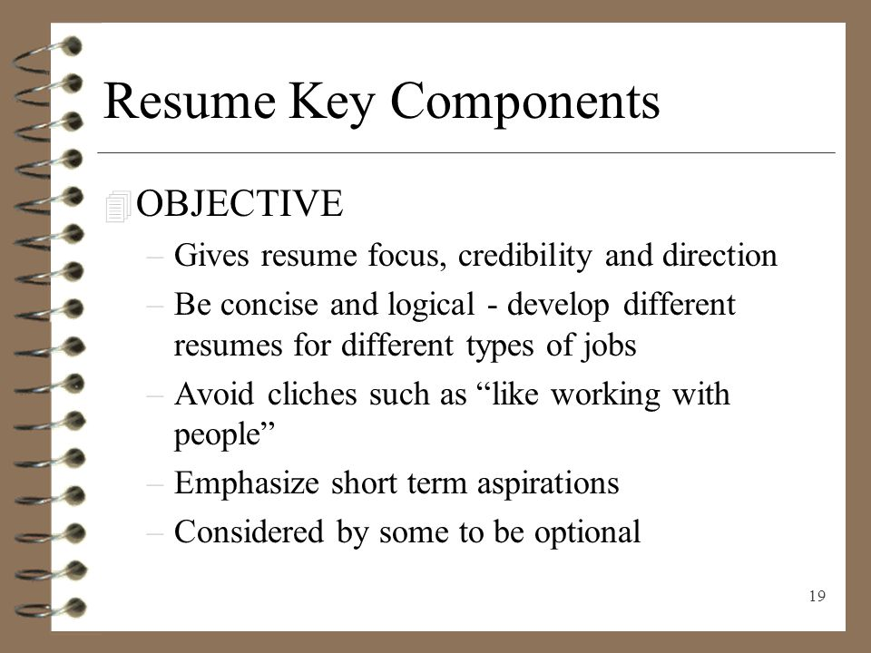 RESUME WRITING Presenting Yourself on Paperppt download