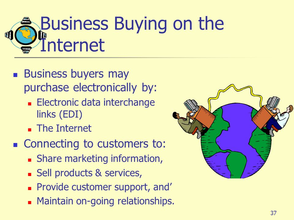 Business Buying on the Internet