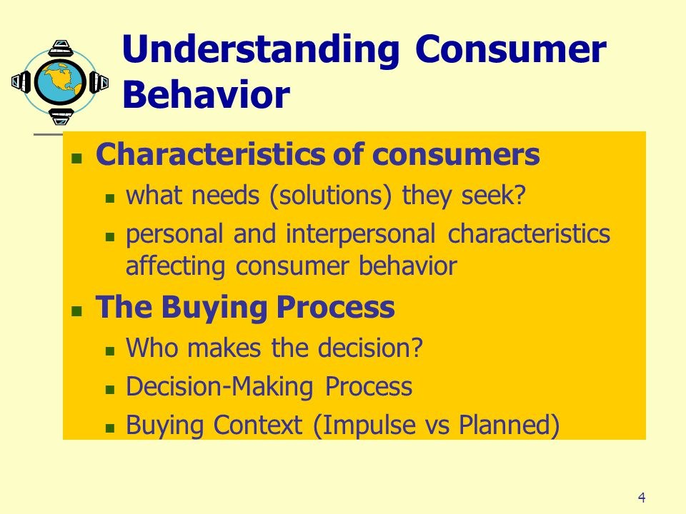 to understand consumer behaviour and pre Understanding chinese consumers which are generally pre the biggest change in chinese consumer behavior comes from the young generation's rising wealth.