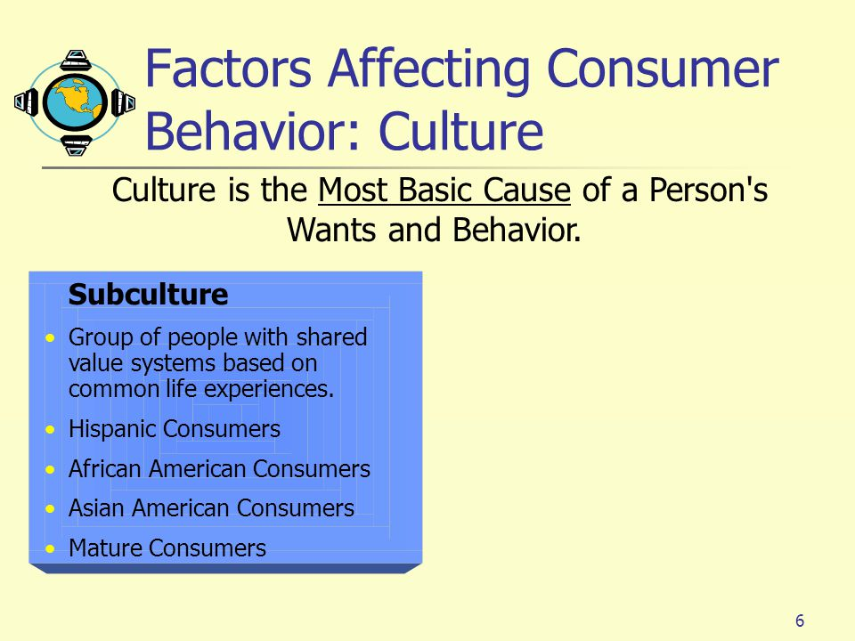 consumer brhavior culture Marketing learn with flashcards, games, and more — for free.