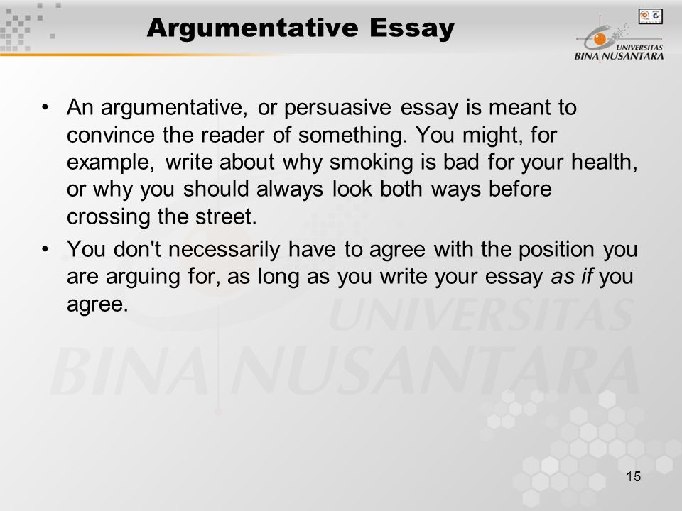 Smoking essay papers