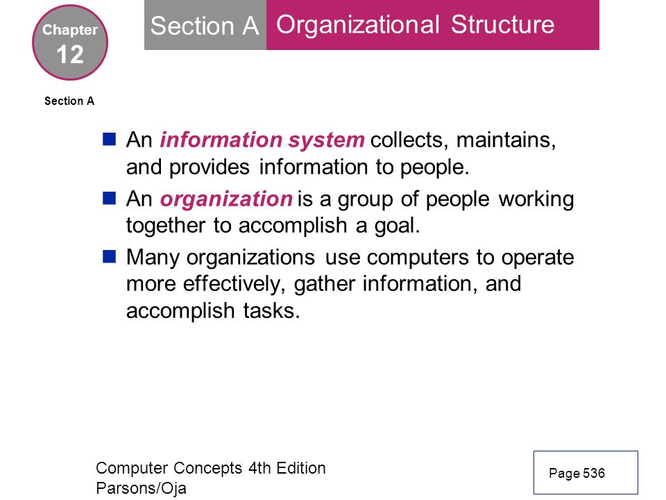 Information systems and organization essay