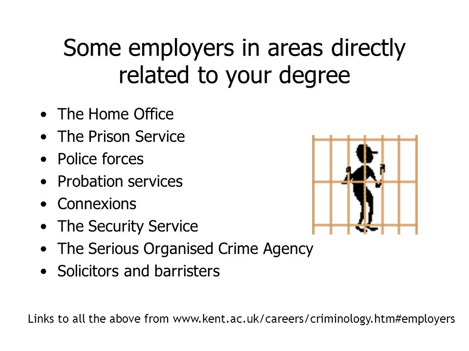 what can you do with a criminology degree