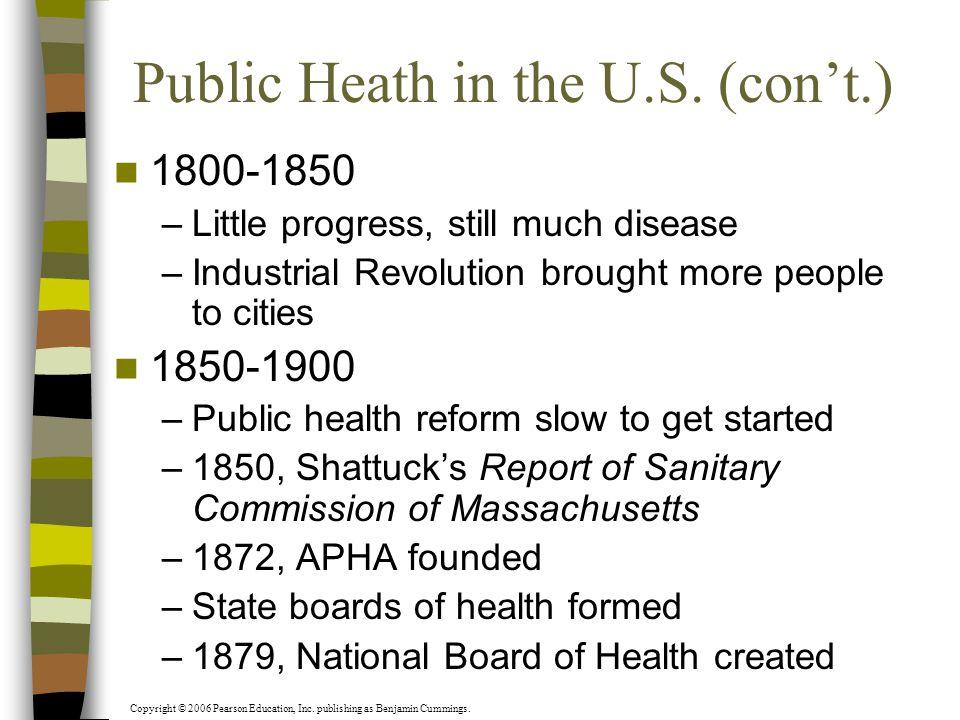 public health 1800 1900 3 public health in the west since 1800: the responses 42 martin gorsky  10  public health in the twentieth century i: 1900–1945 162 virginia berridge.
