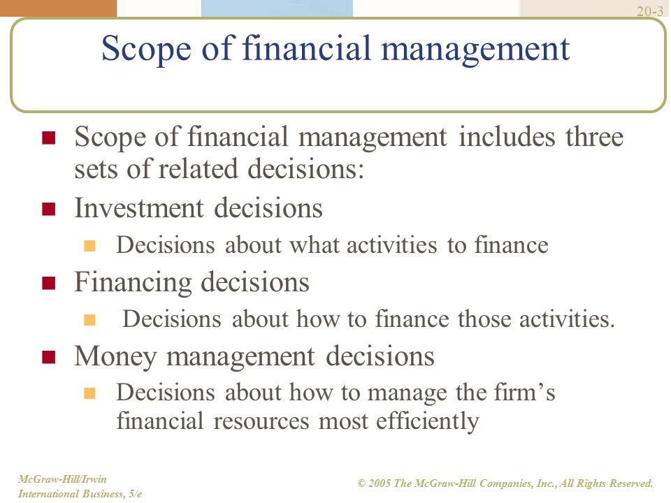 the financial management decision process (c) interact effectively with the financial institutions in the process of procuring the   analysis, working capital management and capital budgeting decisions,.