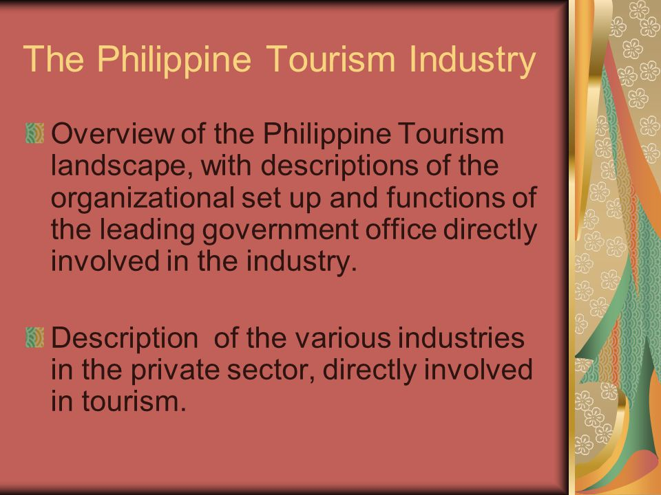 overview of the philippine tourism landscape with descriptions of the organizational set up and func A sole proprietorship is one of the simplest, most streamlined forms of small business ownership since sole proprietorships include only one employee—you—they are easy to establish and manage, and provide an uncomplicated business structure for independent contractors and entrepreneurs across numerous industries.