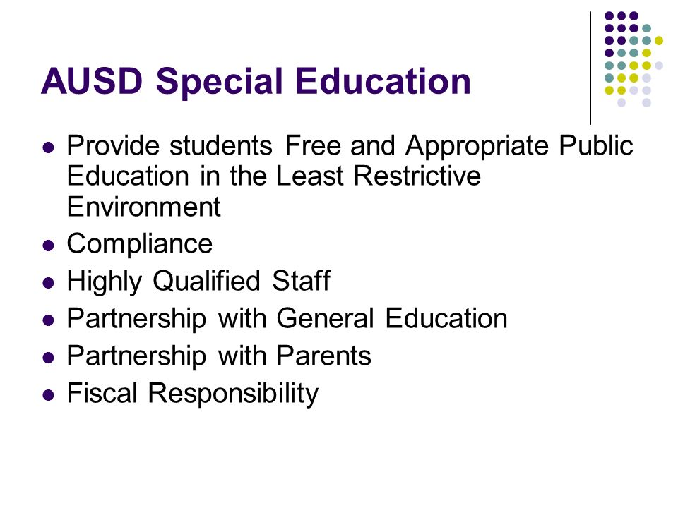 AUSD Special Education