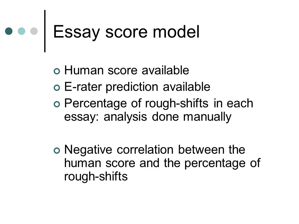 rater effects on essay scoring Writing prompts, student rubrics, and sample expository cause and effect essay ii is evaluated with the use of a holistic score scale and a conventions rating.