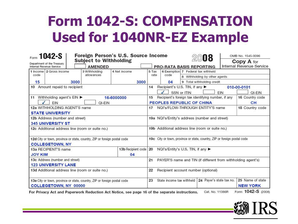 1042 S Form Ibovnathandedecker