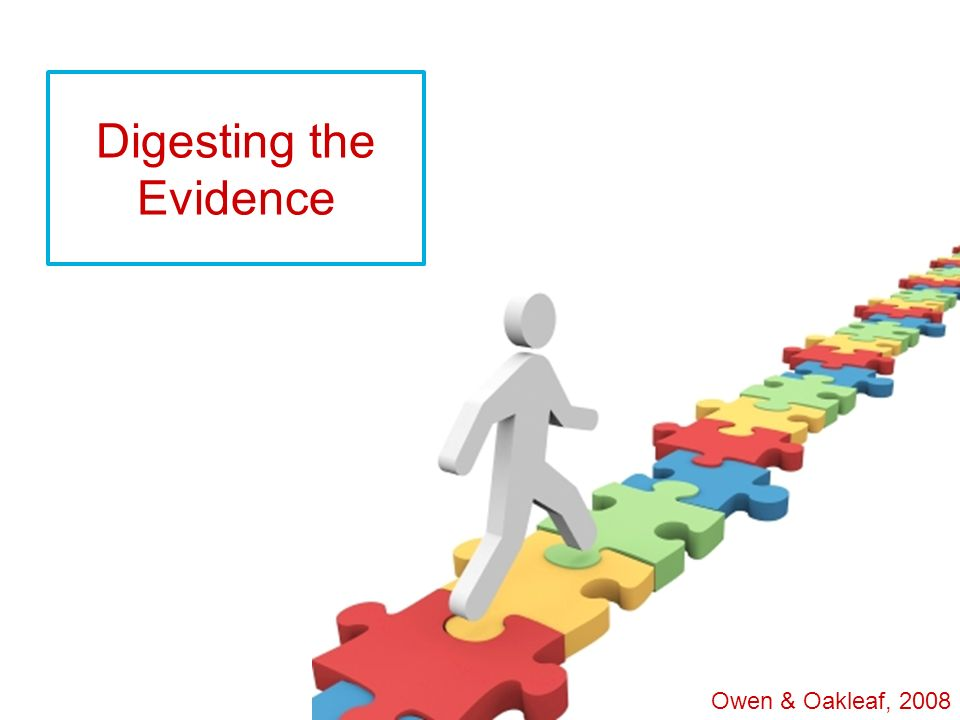 Digesting the Evidence