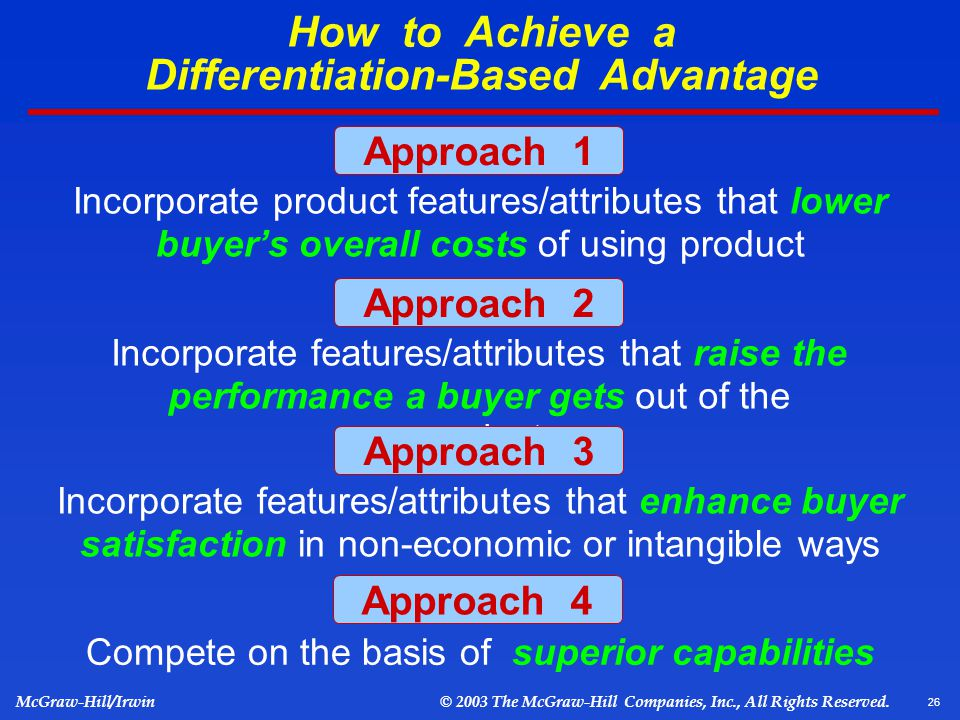 how to attain distinctive competitive advantage 3 ways to sustain a competitive advantage with a focus strategy  warns that  companies that try to do some of each strategy get caught in the middle  with a  focus strategy understand the dynamics and unique customer.
