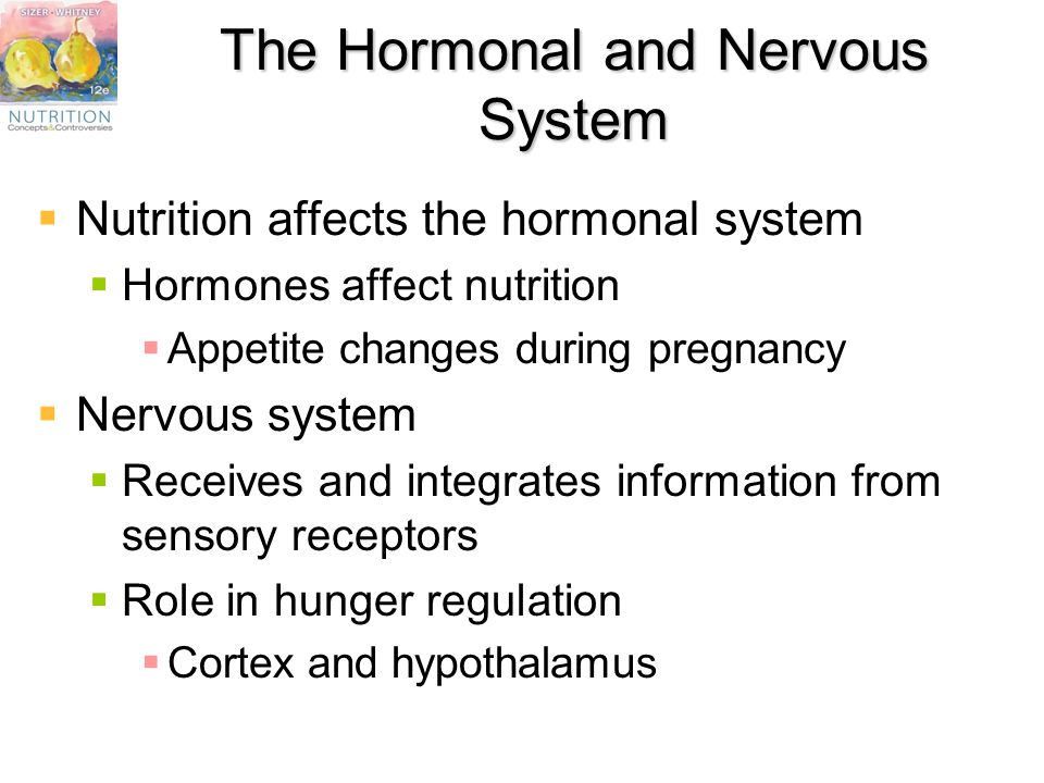 person affected with nervous system