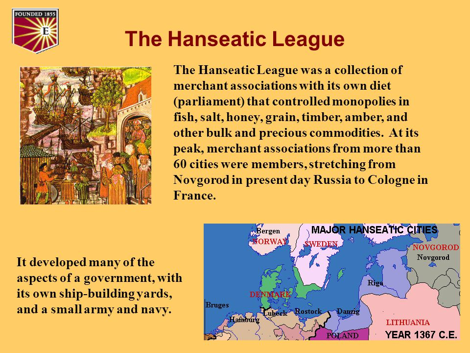 The Hanseatic League and the European Union
