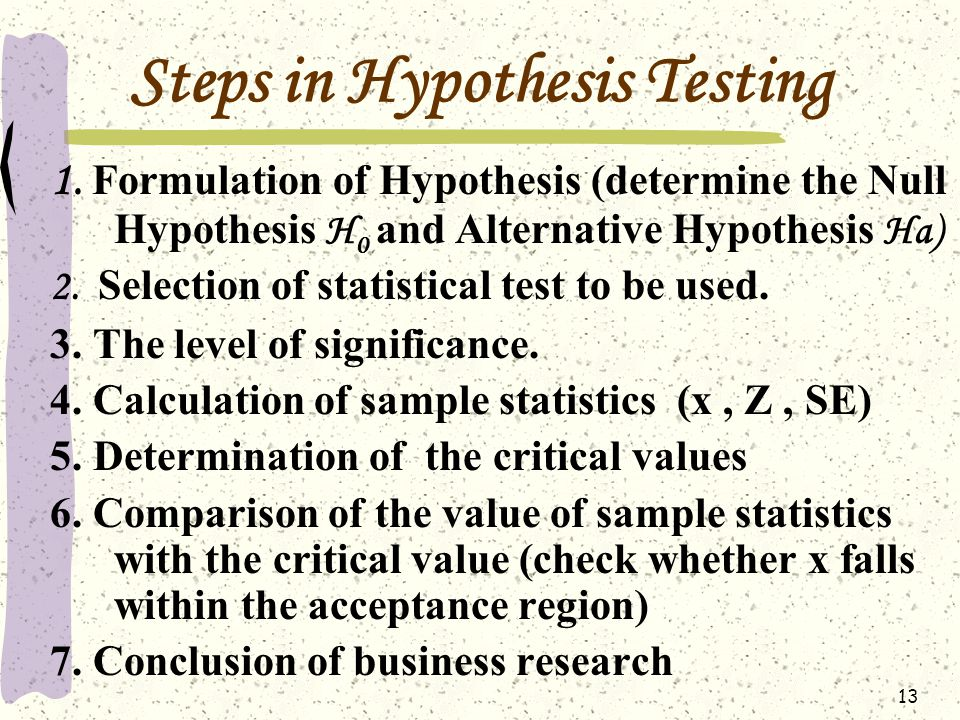formulate and present the rationale for a hypothesis test that par could use to compare