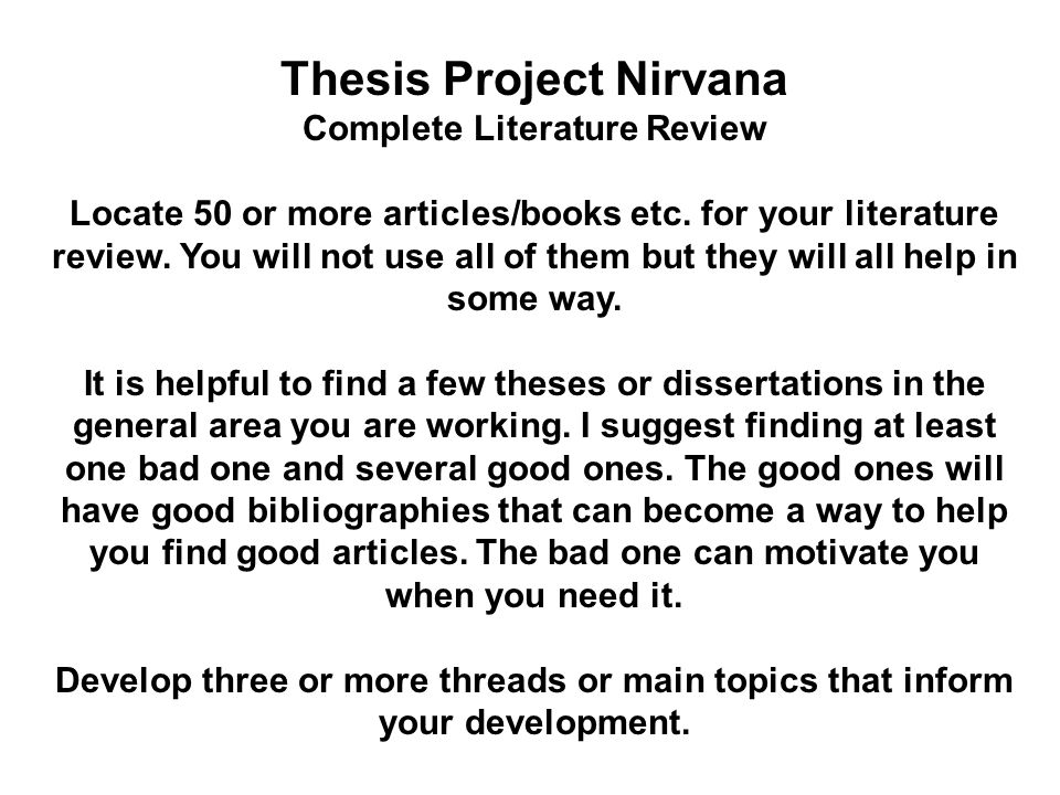 Dissertation review service of related literature