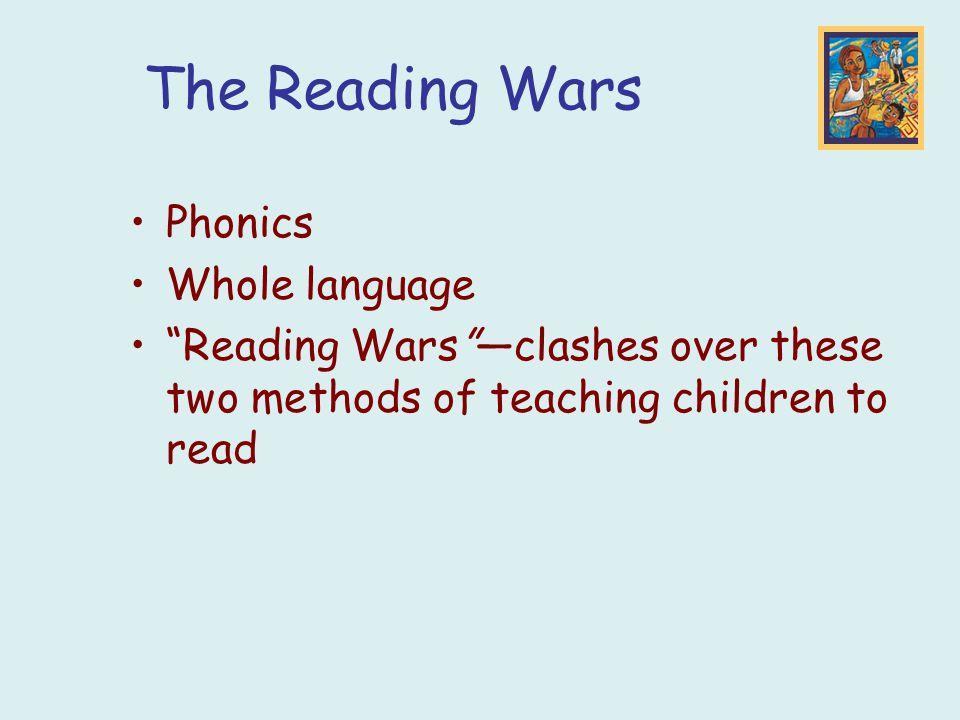 Early Reading Methods - Phonics vs. Whole Language   Teach ...
