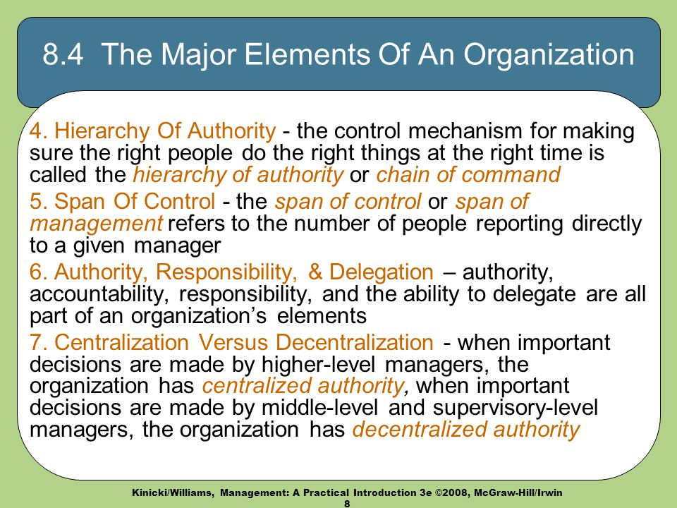 four elements of organizational structure macy s 4 elements of organizational behaviour – all these elements combine to build the model or framework that the organization operates from.