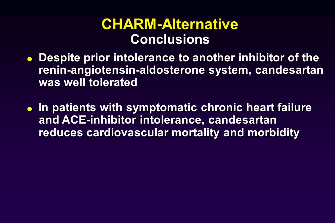 Congestive heart failure ppt video online download for Diovan 160 cm
