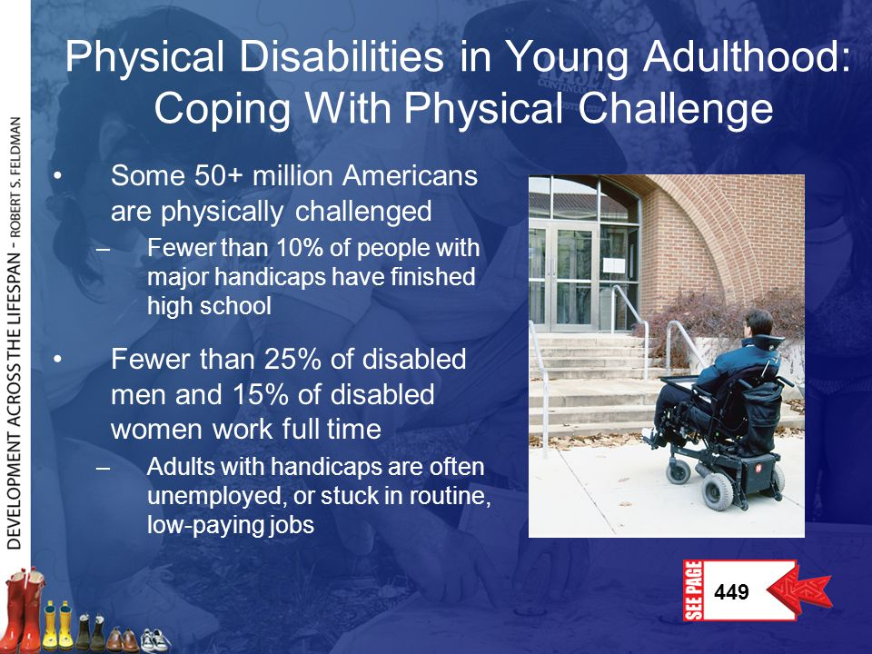 Physical Disabilities in Young Adulthood: Coping With Physical Challenge