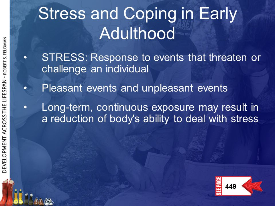 Stress and Coping in Early Adulthood