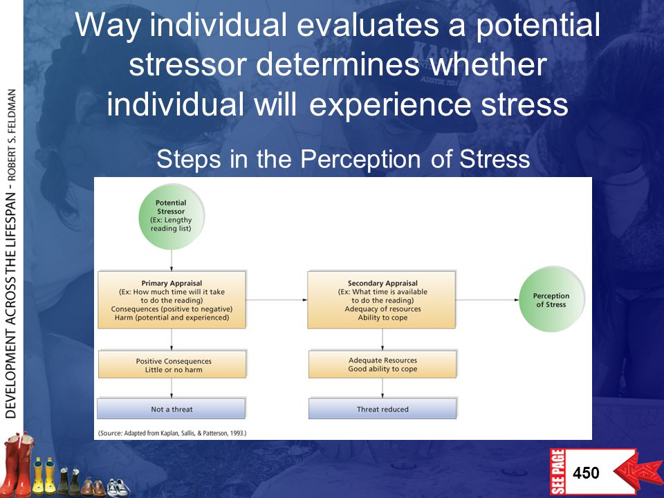 Steps in the Perception of Stress