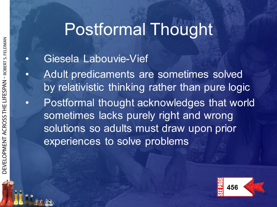 Postformal Thought Giesela Labouvie-Vief