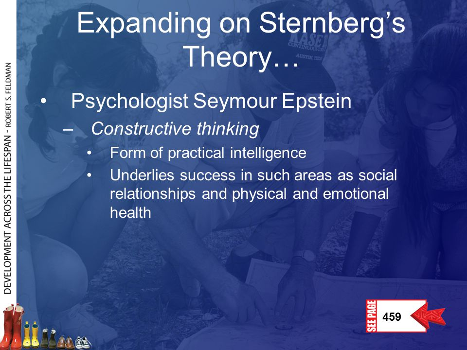 Expanding on Sternberg's Theory…