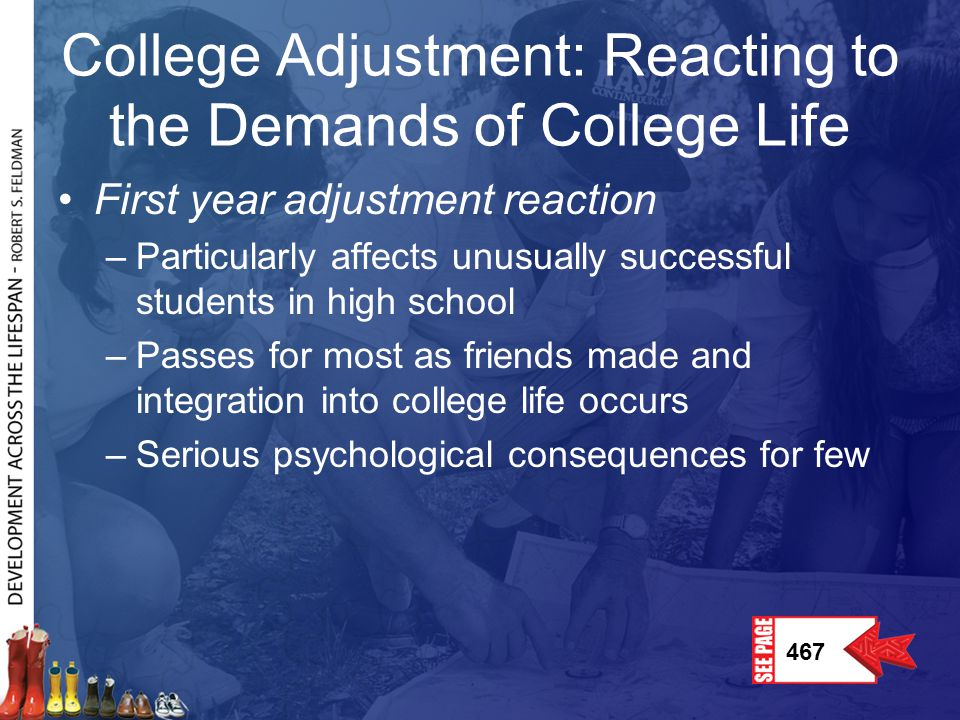 College Adjustment: Reacting to the Demands of College Life