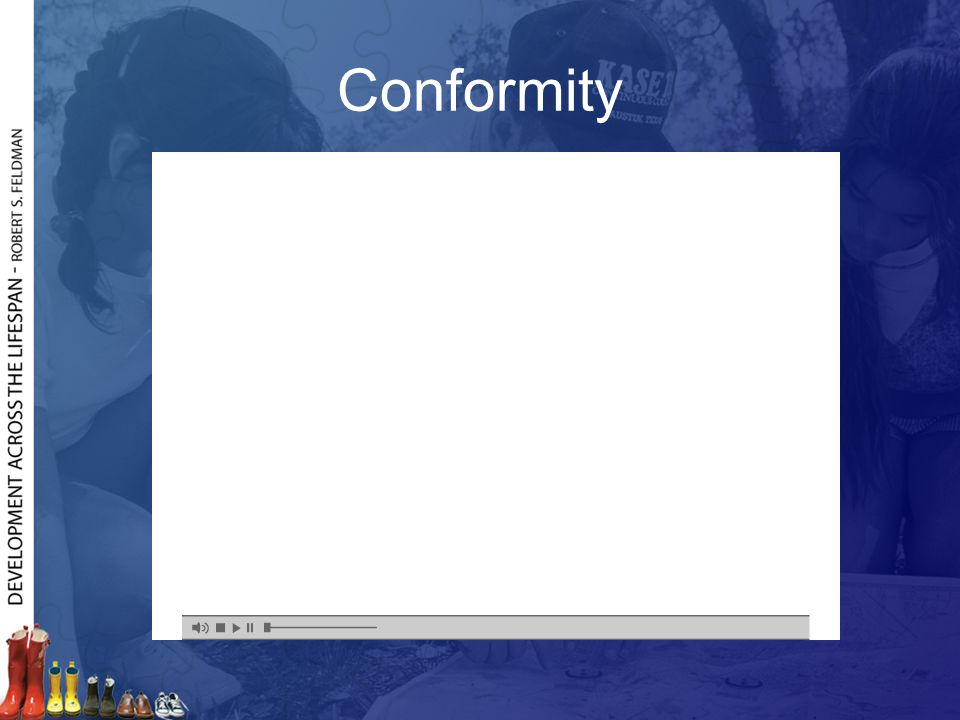 Conformity Frame 1: Introduction to experiment