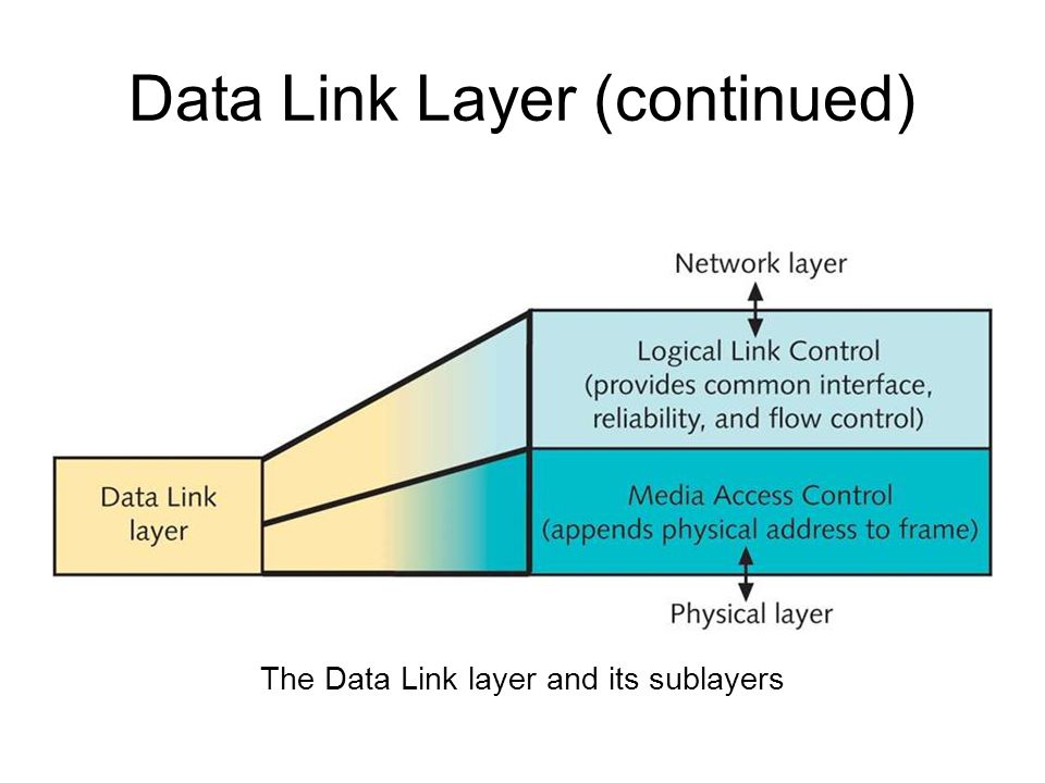 Data Link Layer Overview