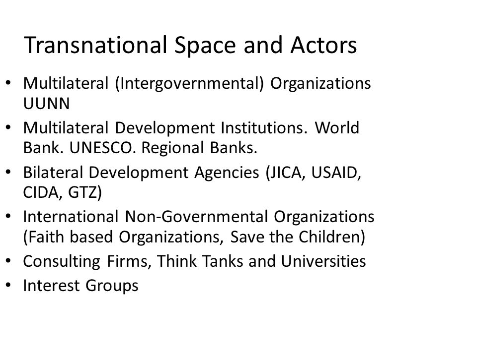 think tanks interest groups
