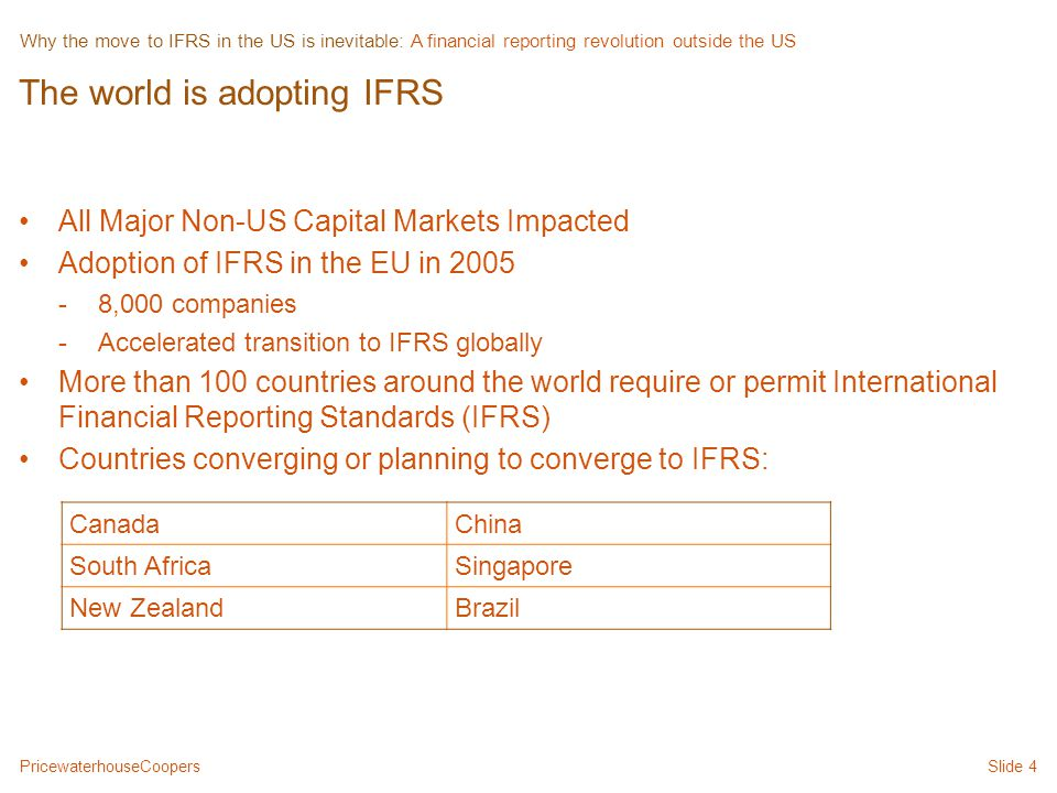 ifrs adoption in spain and the Adoption by intergovernmental  adopt and fully implement the international public sector accounting standards  use ifrs spain – the spanish ministry of.