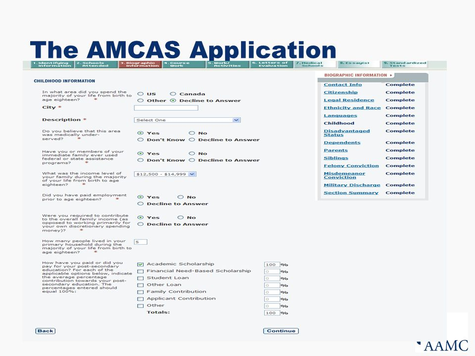 adding coursework amcas Need help adding spice to the activities section or your amcas essay work one-on-one with an expert accepted advisor who will help you prepare a delicious amcas.