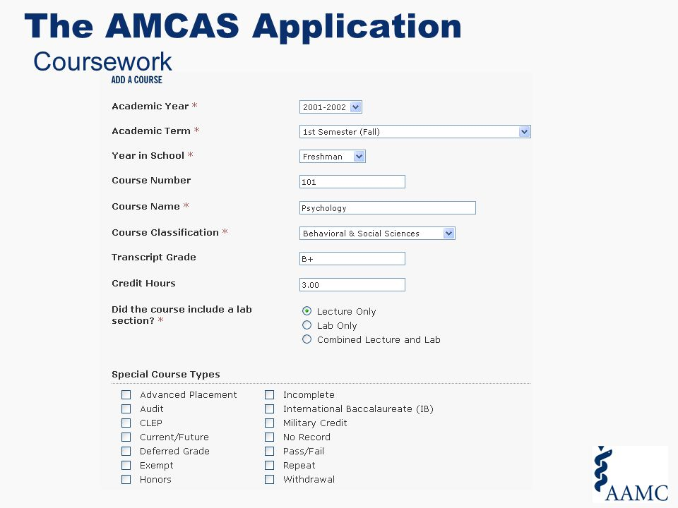 How to format essay amcas