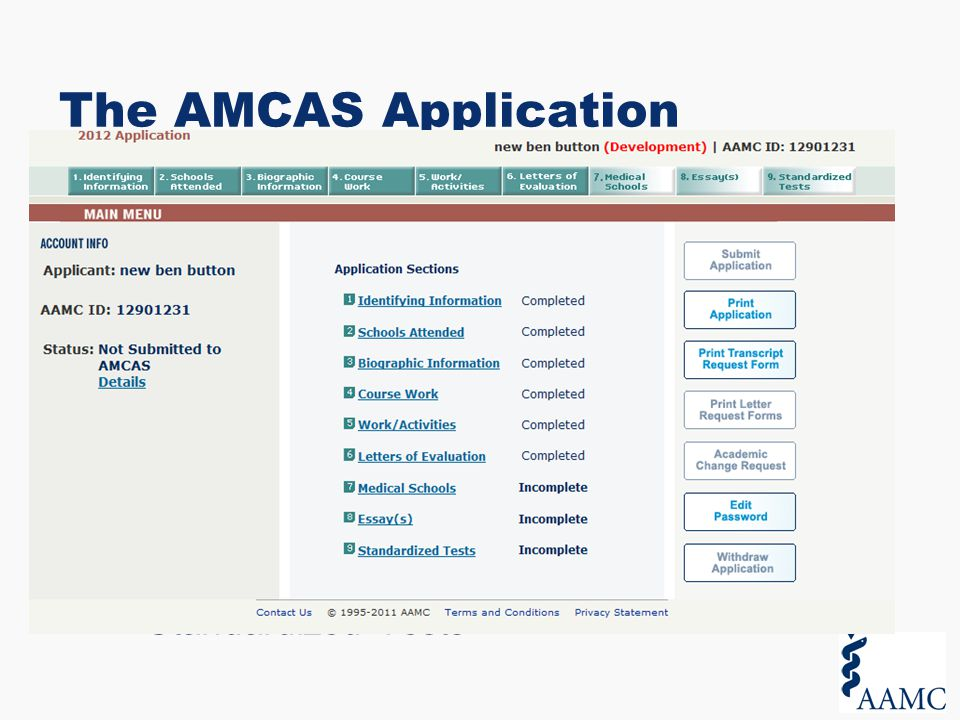 amcas coursework classifications The amcas instruction manual lists common course titles and their classification you should stick to this guide unless the content of the course differed from the department of the course if you believe that 51% or more of the course content was a different discipline, then you can classify the course differently.