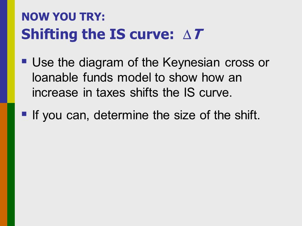 ANSWERS: Shifting the IS curve: T