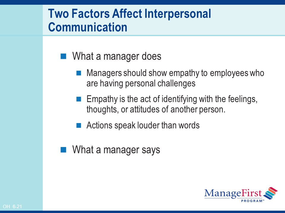 the importance of identifying interpersonal feelings Working with feelings: the importance of emotion in both cognitive-behavioral and interpersonal therapy in the nimh (pqs) to identify therapists' overall.