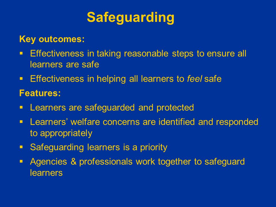 understanding how to safeguard the wellbeing Unit 333 understanding how to safeguard the wellbeing of children and young people outcome 1 11 in 1989 the children s act was introduced to change.
