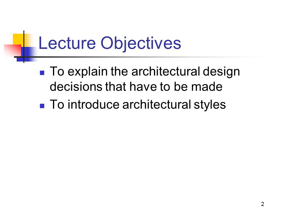 Explain Architectural Design In Software Engineering