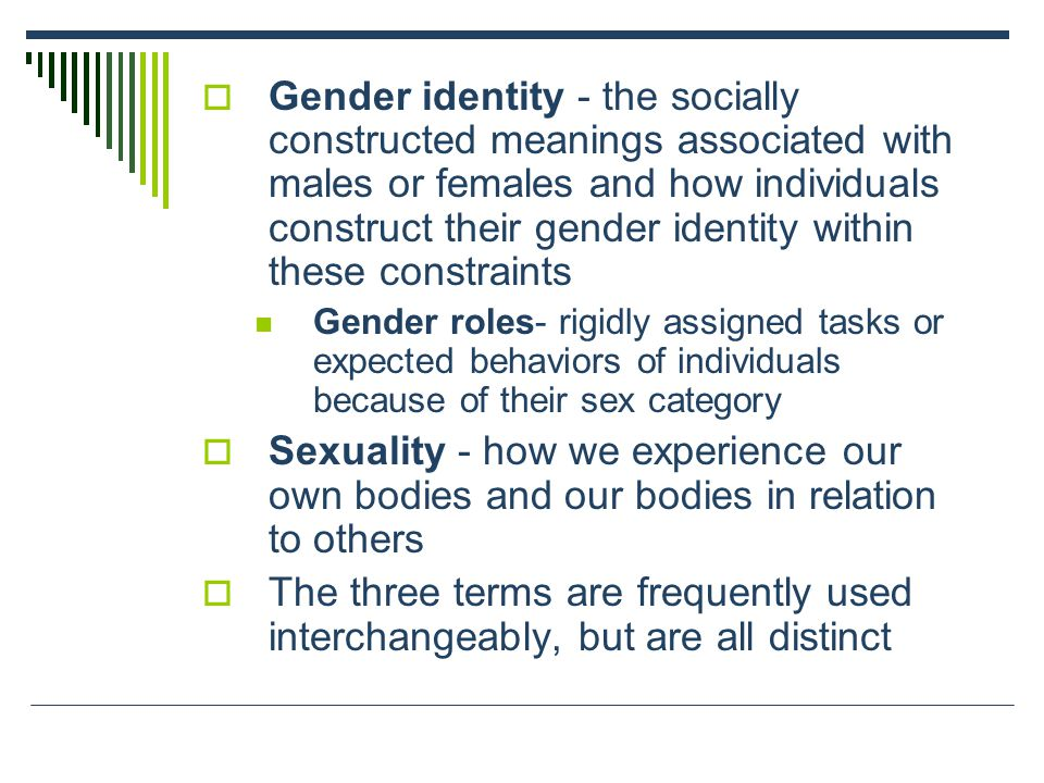 gender a socially constructed ideal essay This free sociology essay on objectifying theory 2gender is socially constructed latina women were asked about their body images as well as their ideal.