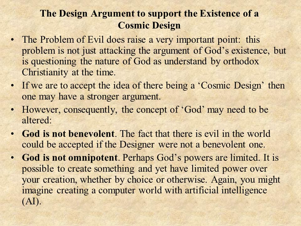 the argument of whether god exists or not essay As many arguments can be made for and against the existence of god in this essay god exist design argument--does god exist on whether or not god exists or.